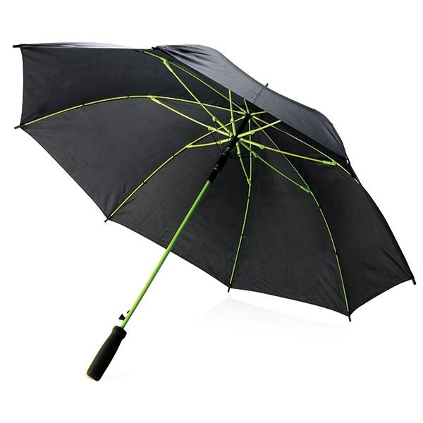"""Parapluie publicitaire 23"""" Athéos - noir/bleu"""