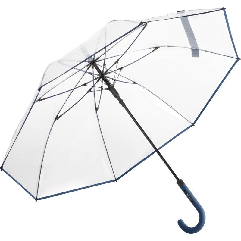 Parapluie personnalisé Pure - Parapluie personnalisable bleu