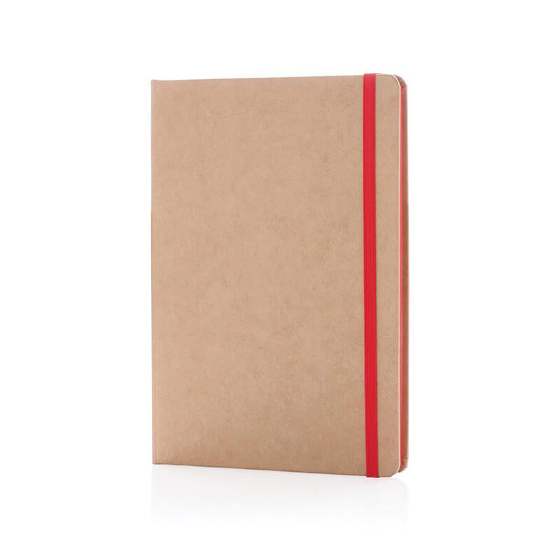 Carnet à personnaliser kraft écologique A5 Cardboard - Cadeau d'entreprise écologique