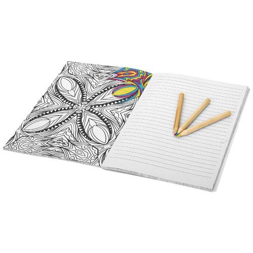 Carnet promotionnel A5 Doodle - carnet publicitaire