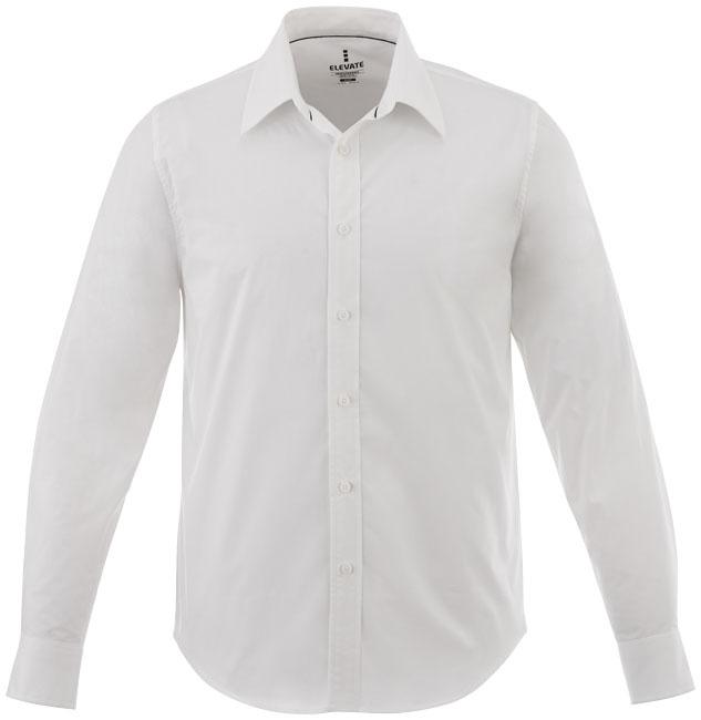 Chemise publicitaire manches longues Hamell pour homme - chemise personnalisée