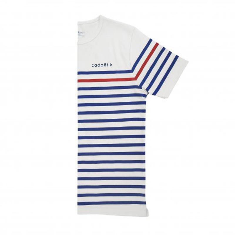 t-shirt publicitaire marinière timo