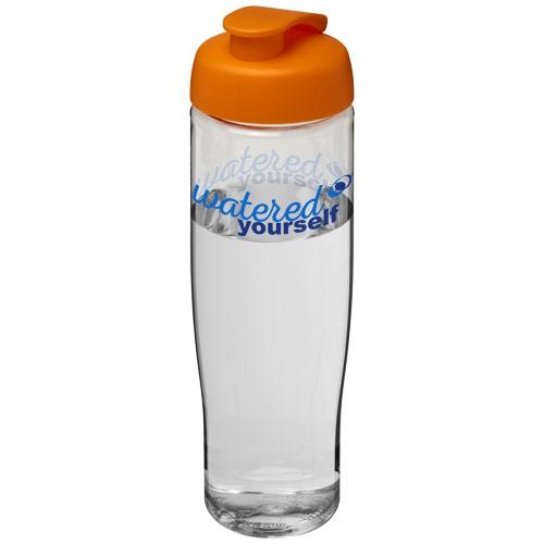 Bouteille de sport personnalisée H2O Tempo® 700 ml avec couvercle à clapet - Objet publicitaire pour le sport