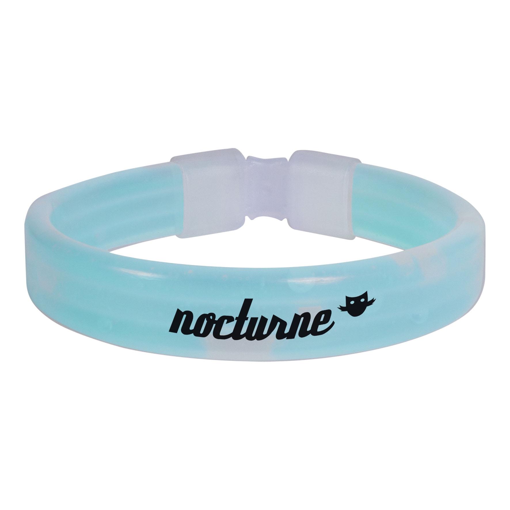 Goodies - Bracelet lumineux publicitaire Eclat