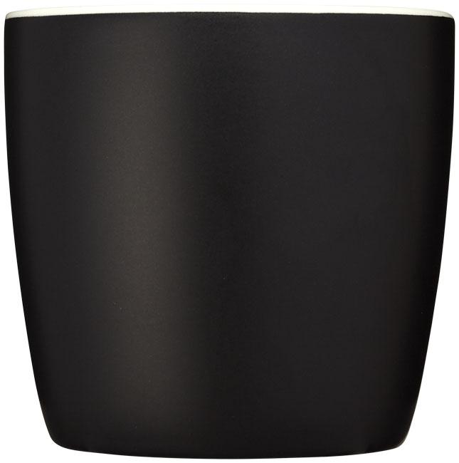 Mug personnalisé Riviera noir et blanc