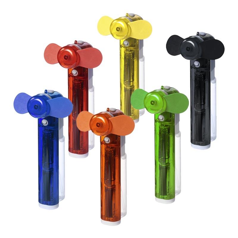 Brumisateur publicitaire de poche et ventilateur Fiji - Coloris disponibles