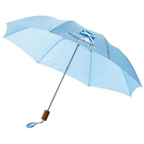 Parapluie publicitaire orange