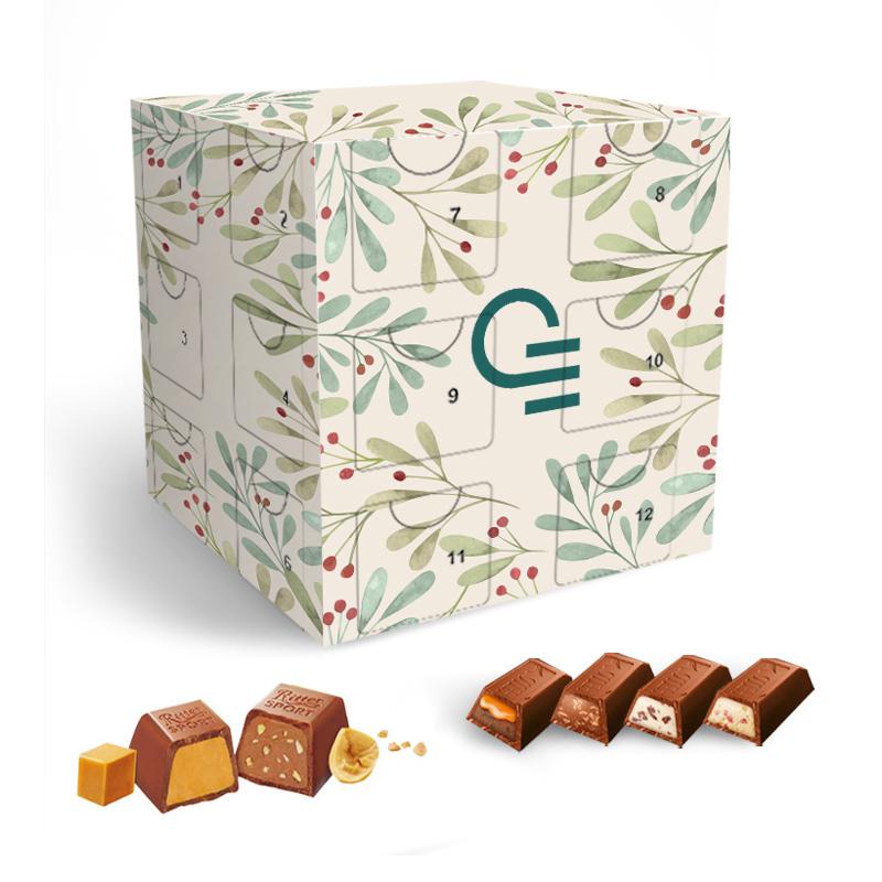 Calendrier de l'Avent publicitaire Cube - Boîte