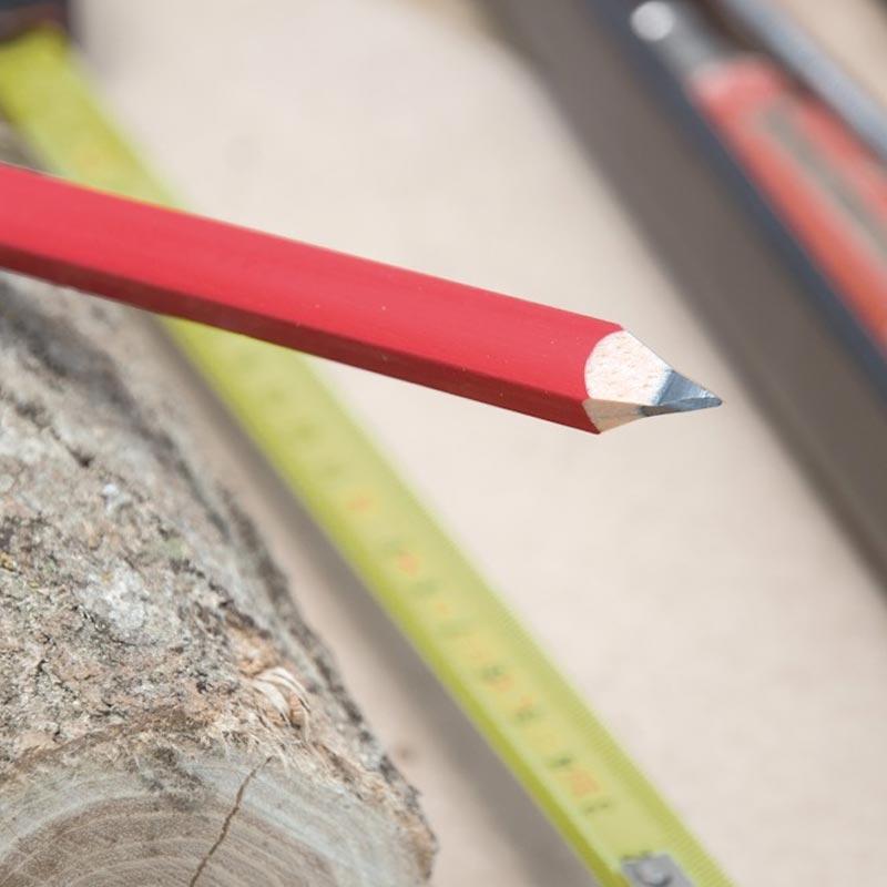 Crayon de charpentier personnalisable Eco Pantone