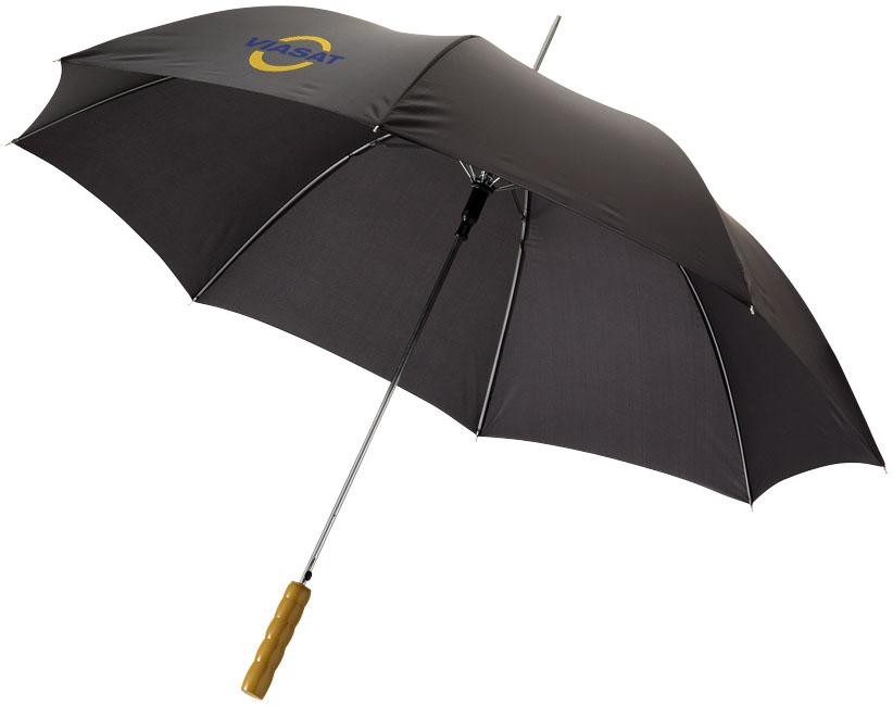 Parapluie publicitaire Elmer - Cadeau promotionnel - noir