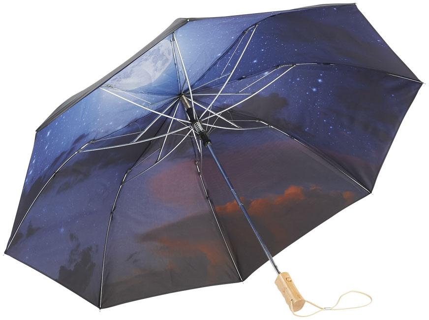 """Parapluie personnalisé automatique 21"""" Night sky - cadeau d'entreprise outdoor"""