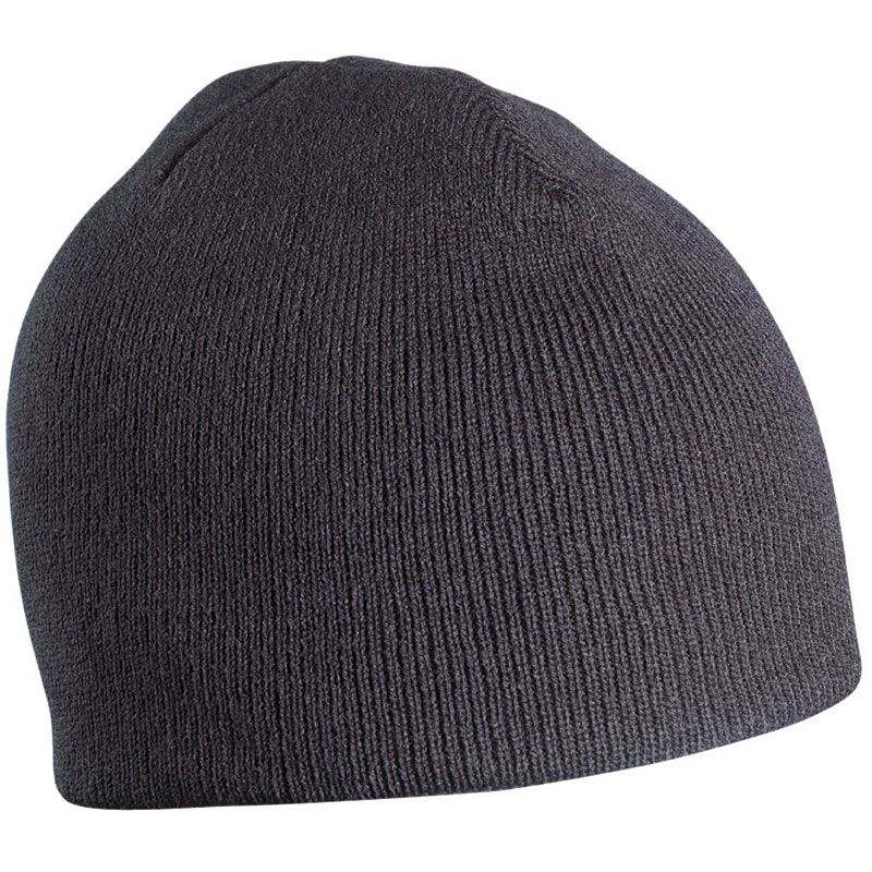 Bonnet publicitaire tricot sans revers Bobo - Objet publicitaire textile hiver - bleu