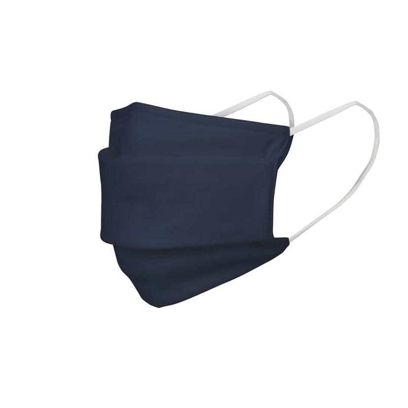 Masque barrière publicitaire Warna - bleu