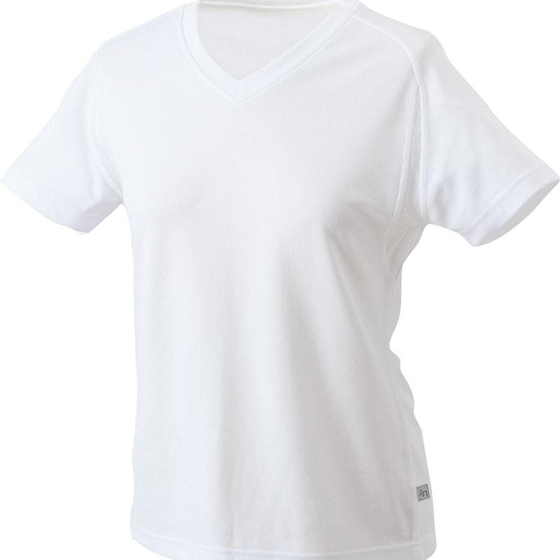 Tee-shirt running publicitaire Femme Lucie - Tee-shirt running personnalisé