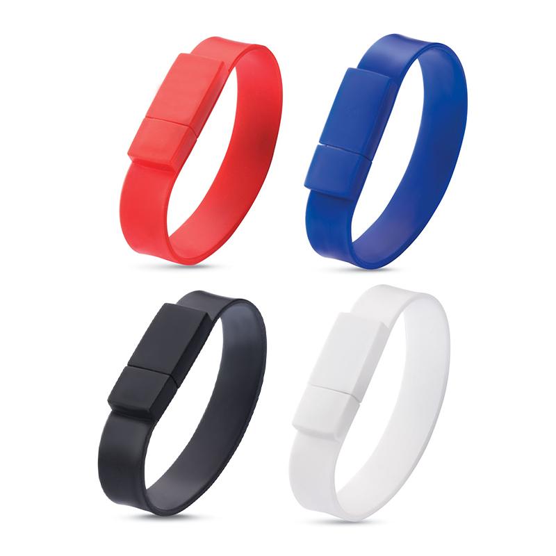 Clé USB publicitaire Silicone Wrist - Coloris disponibles