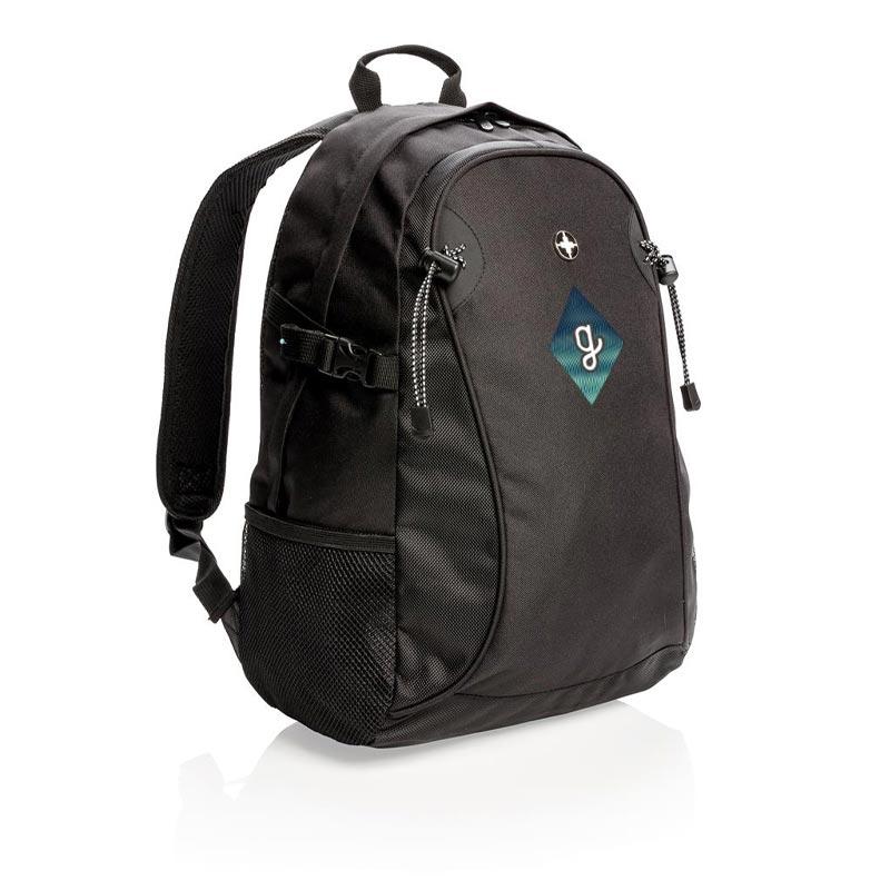 sac à dos publicitaire avec port USB Lima - cadeau publicitaire