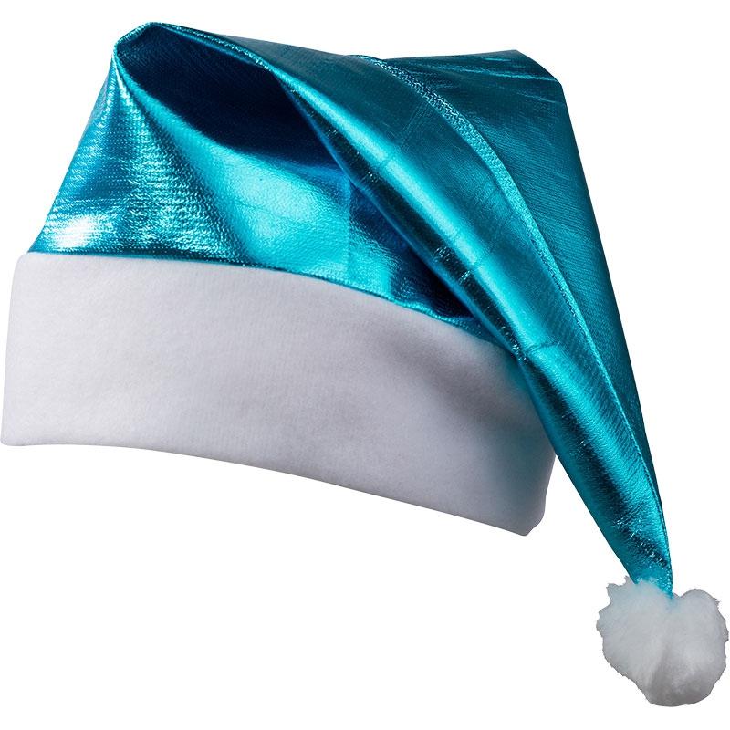 Goodies - Bonnet de père Noël brillant publicitaire - rose