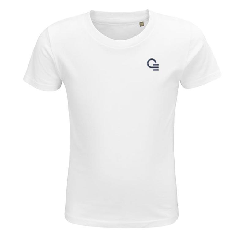 T-shirt publicitaire enfant en coton bio Crusader