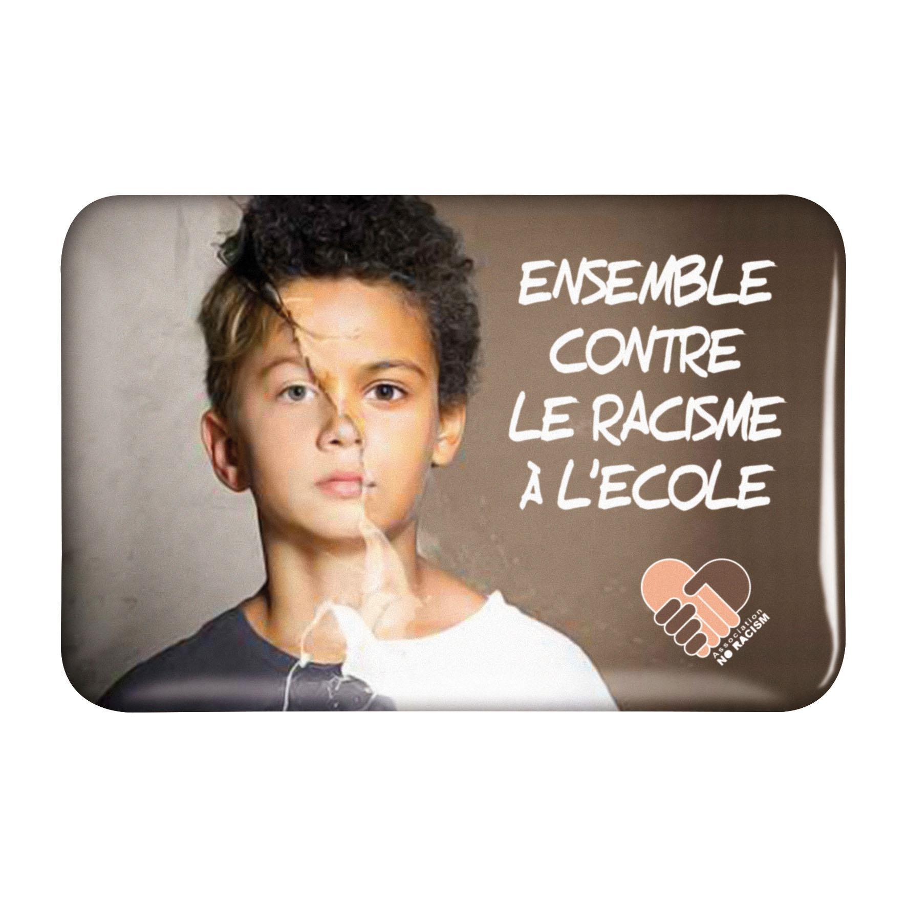 Goodies Salons - Badge publicitaire Grand Rectangle 5,9 x 3,9 cm