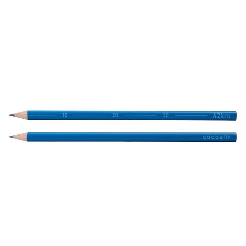 Crayon à papier publicitaire 42km Marathon