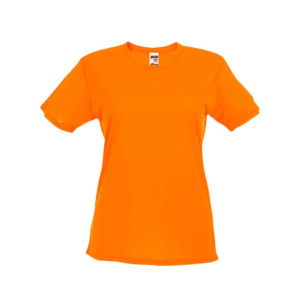 T-shirt publicitaire technique femme Nicosia - noir