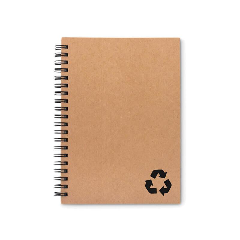 Cadeau promotionnel - Cahier à spirales 70 feuilles STONEBOOK