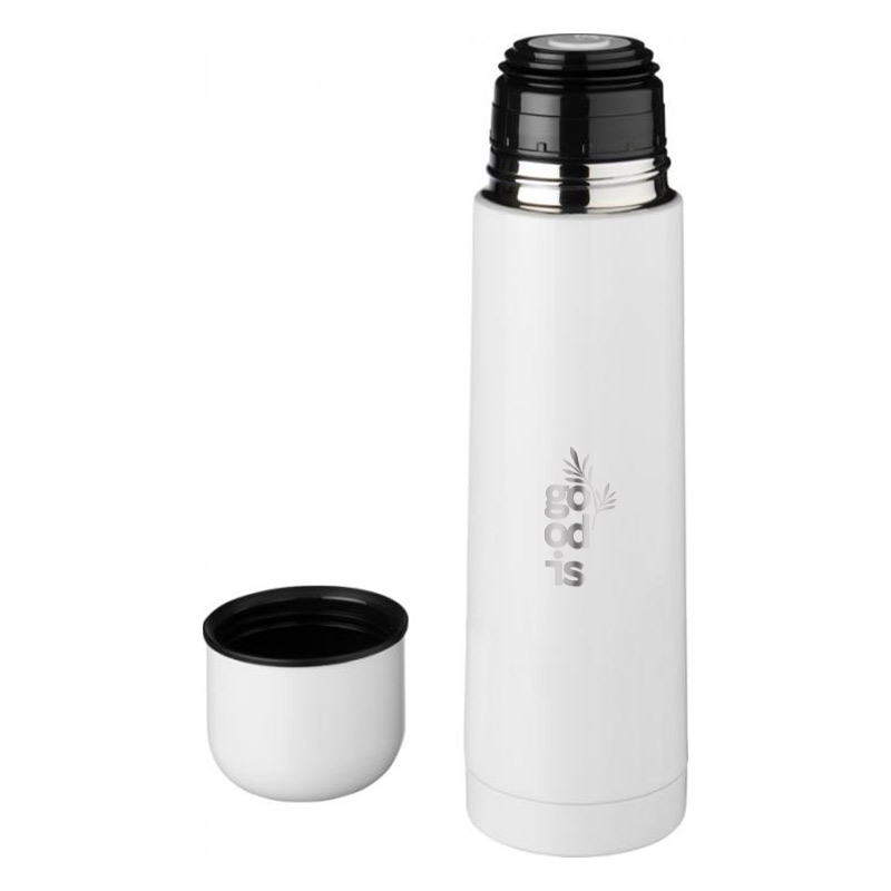 Bouteille isotherme personnalisable Gallup - blanc