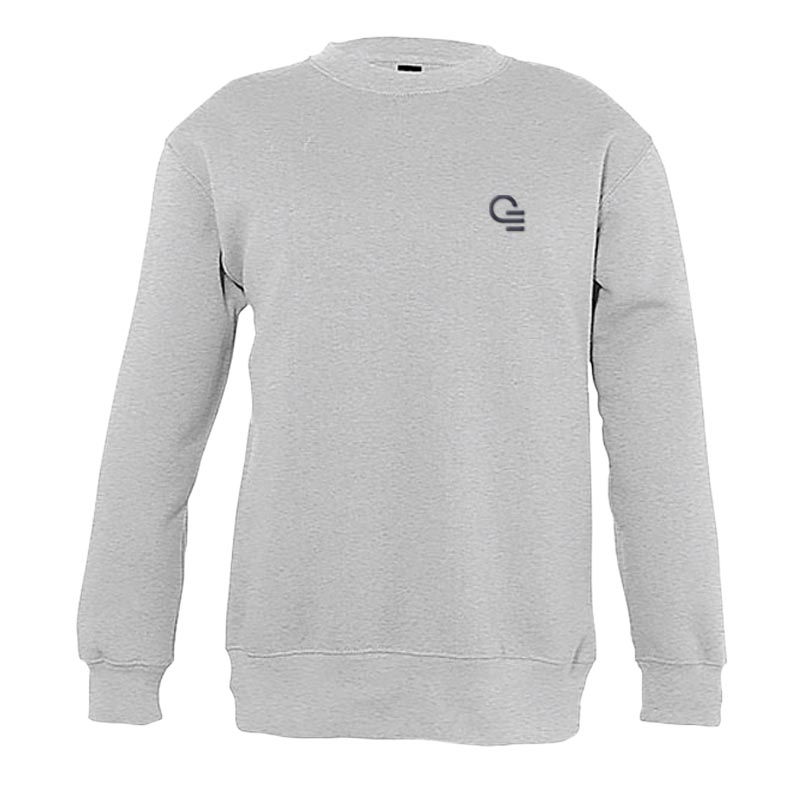 Sweat publicitaire enfant New Supreme 280 g - Coloris gris