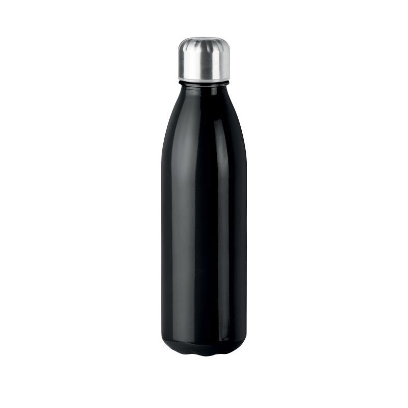 Bouteille en verre personnalisée Aspen - Noir
