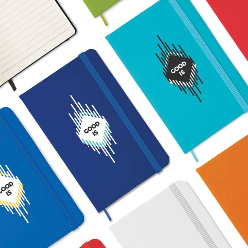 Carnet A6 publicitaire 96 pages lignées Notelux