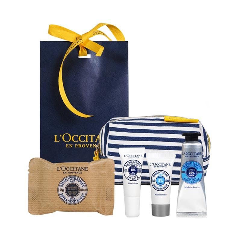 Coffret cosmétique publicitaire Karite moi L'Occitane - Goodies beauté