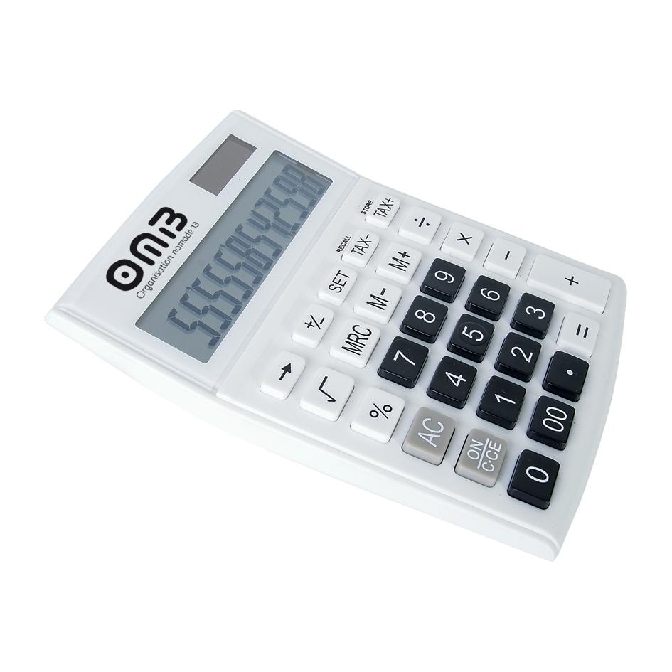 Calculatrice personnalisable écologique Arrow - objet publicitaire