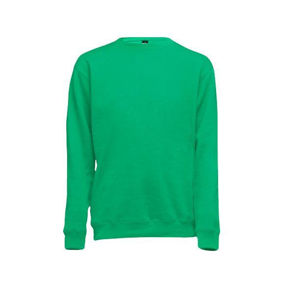 Sweat-shirt publicitaire unisexe col rond Delta - vert émeraude