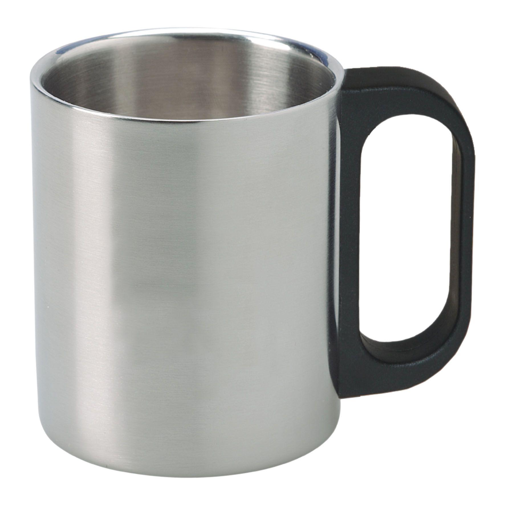 Cadeau publicitaire - Mug publicitaire isotherme inox 22cl Timbali