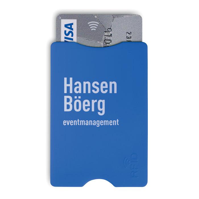 Protecteur de carte de crédit publicitaire Protector