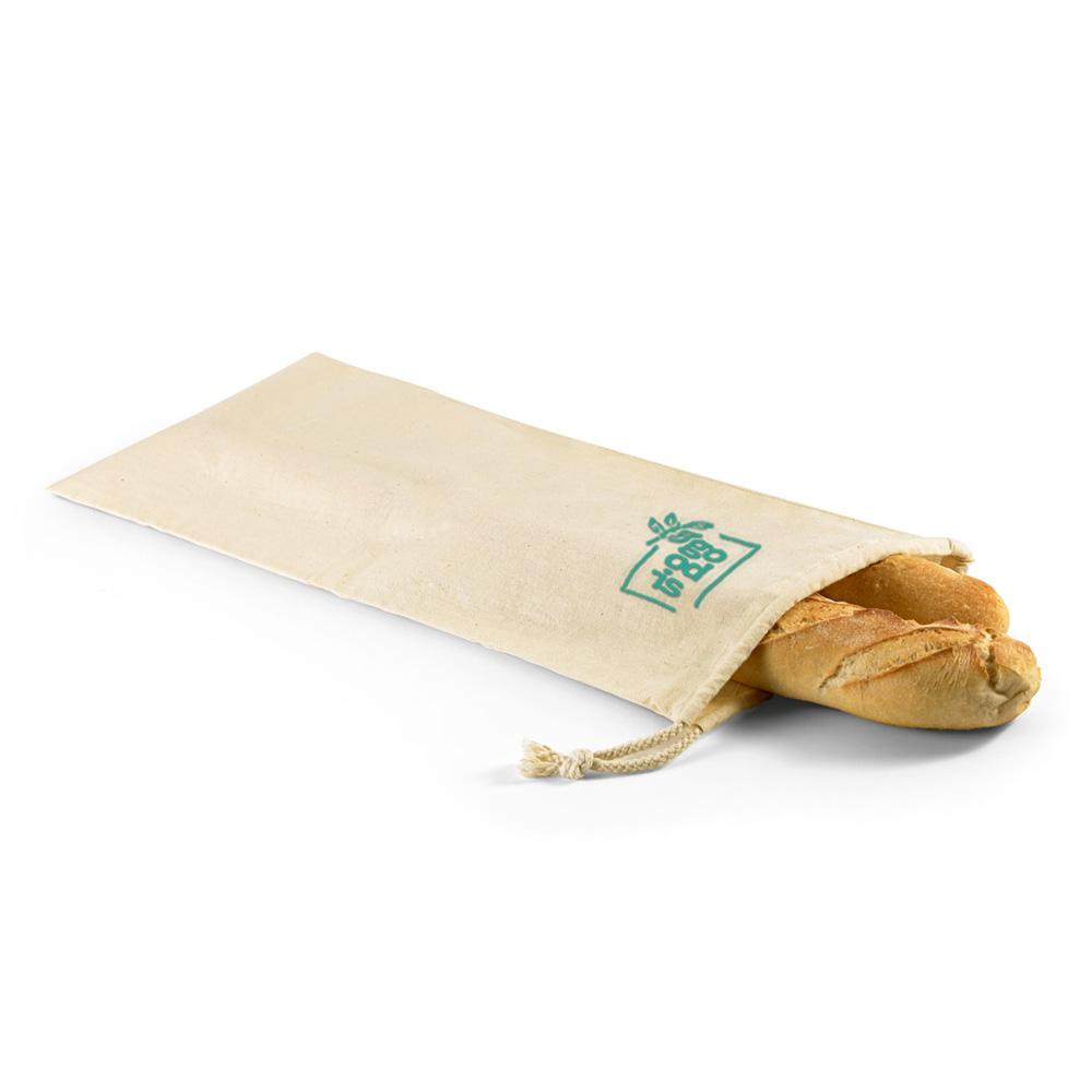 Sac à pain en coton Bread vert