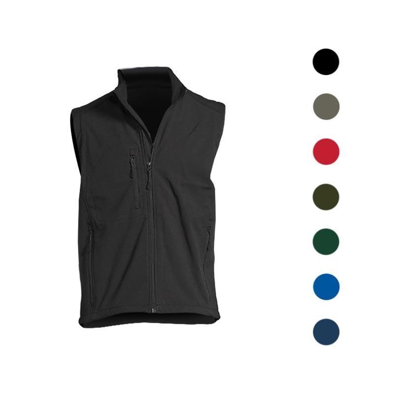 veste softshell sans manches - coloris