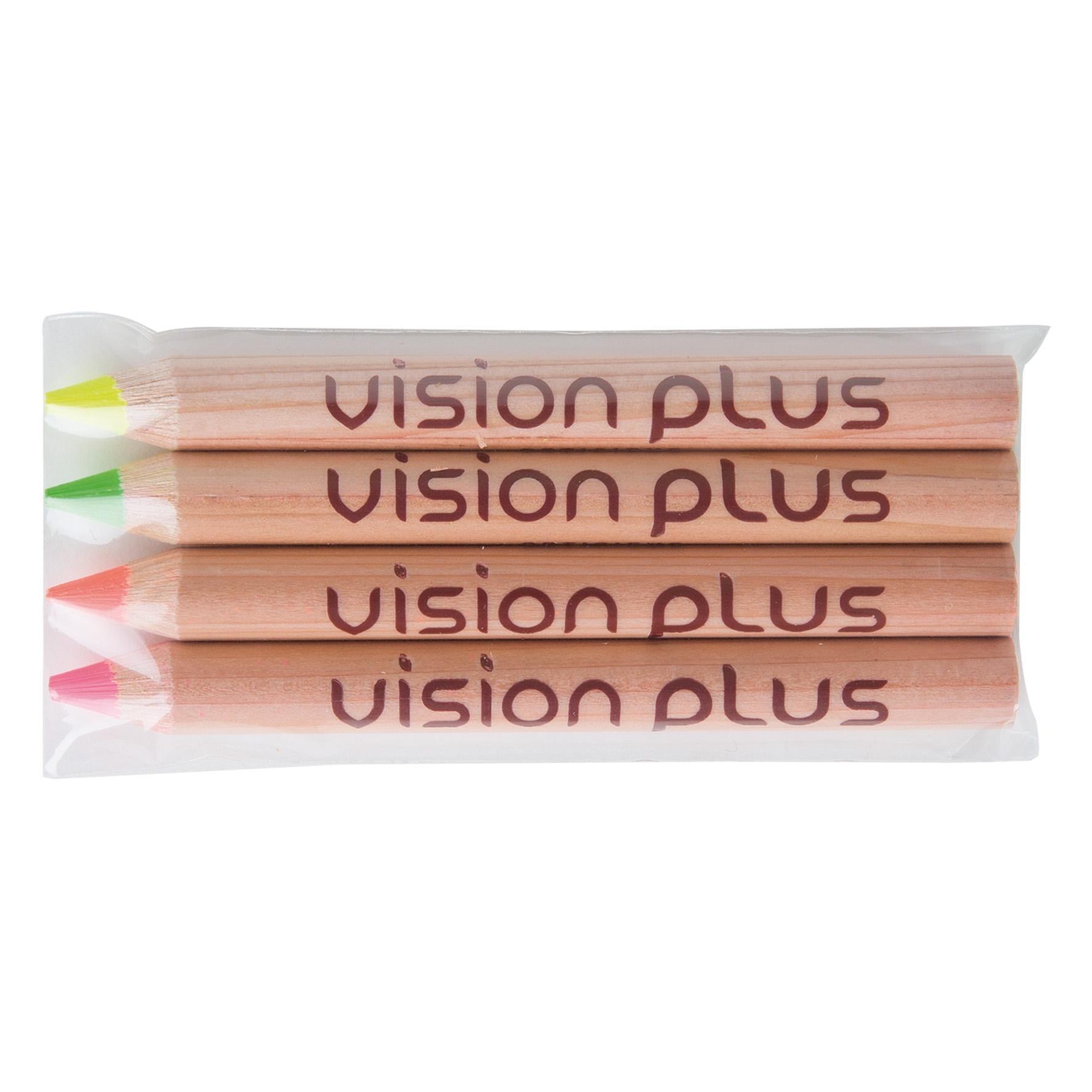 crayons surligneurs publicitaires naturel mines fluo L 8,5