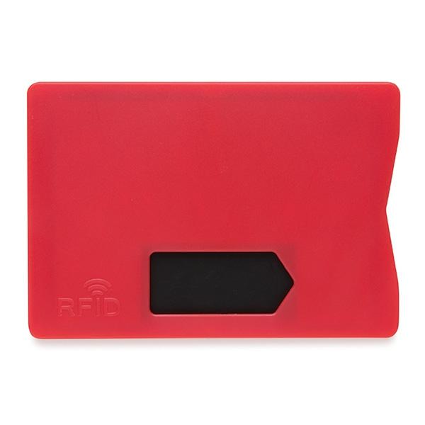 Porte-cartes publicitaire RFID - bleu
