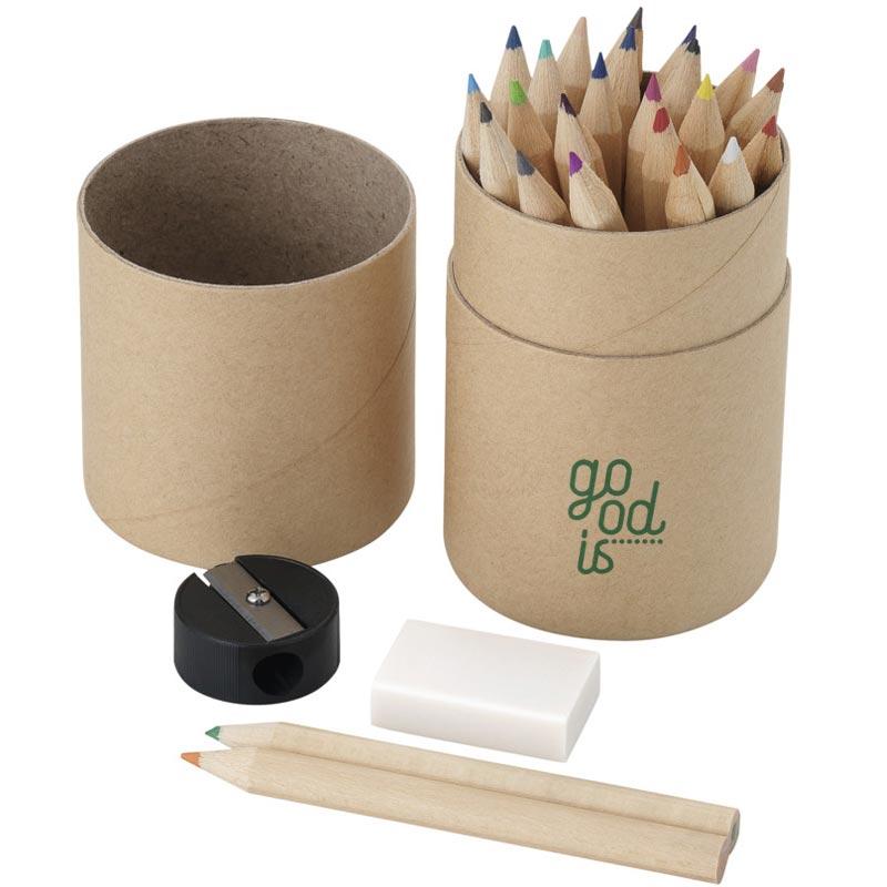 Crayons de couleur personnalisables Crea - cadeau publicitaire pour enfants