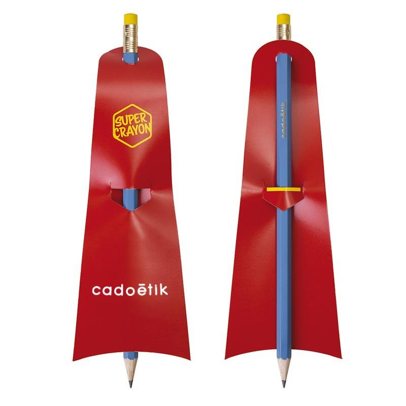Crayon à papier publicitaire écologique Supman