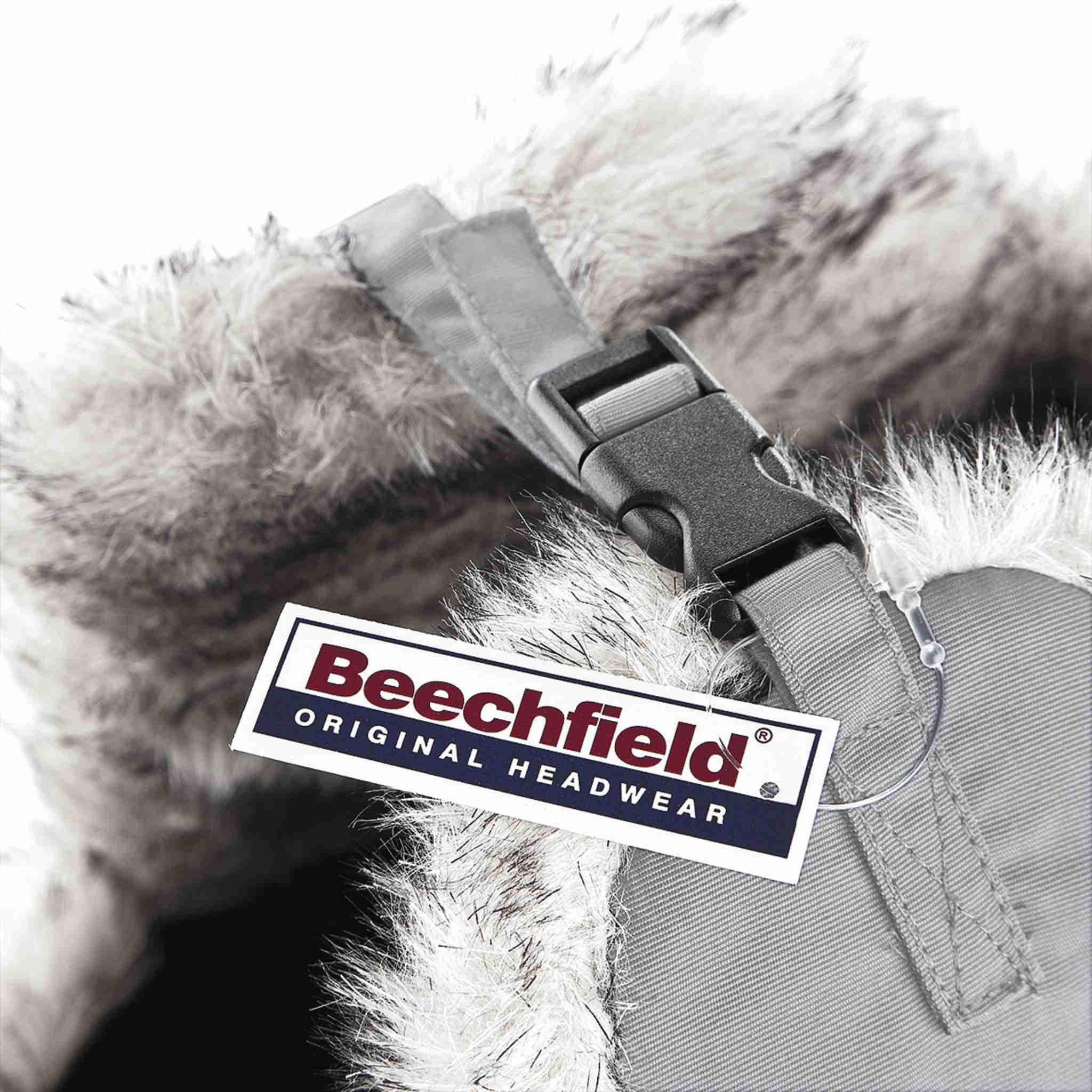 Bonnet personnalisable Sherpa - bonnet promotionnel gris