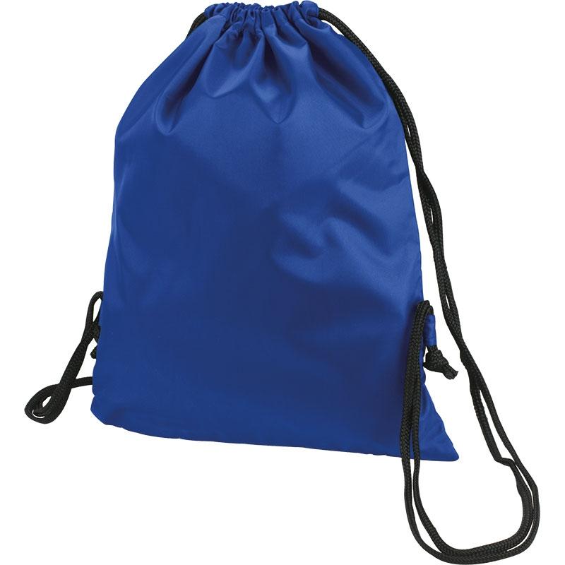 Sac à dos cordon personnalisable Bloofy  - Gym bag publicitaire - marine