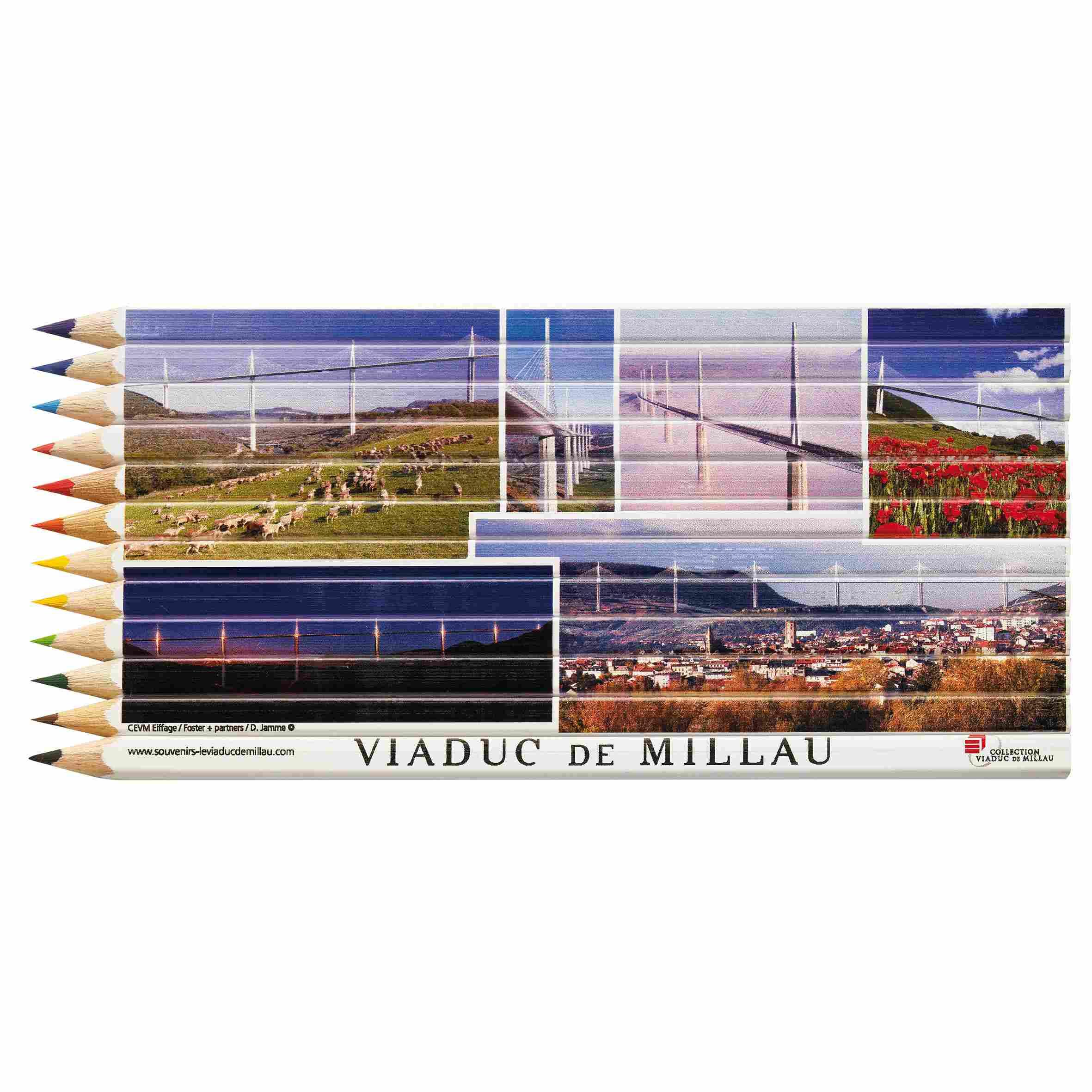 Goodies original - set crayons de couleurs personnalisés en quadri puzzle Eco 17,6