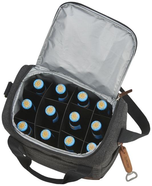 Sac isotherme publicitaire 12 bouteilles Campster - Cadeau publicitaire
