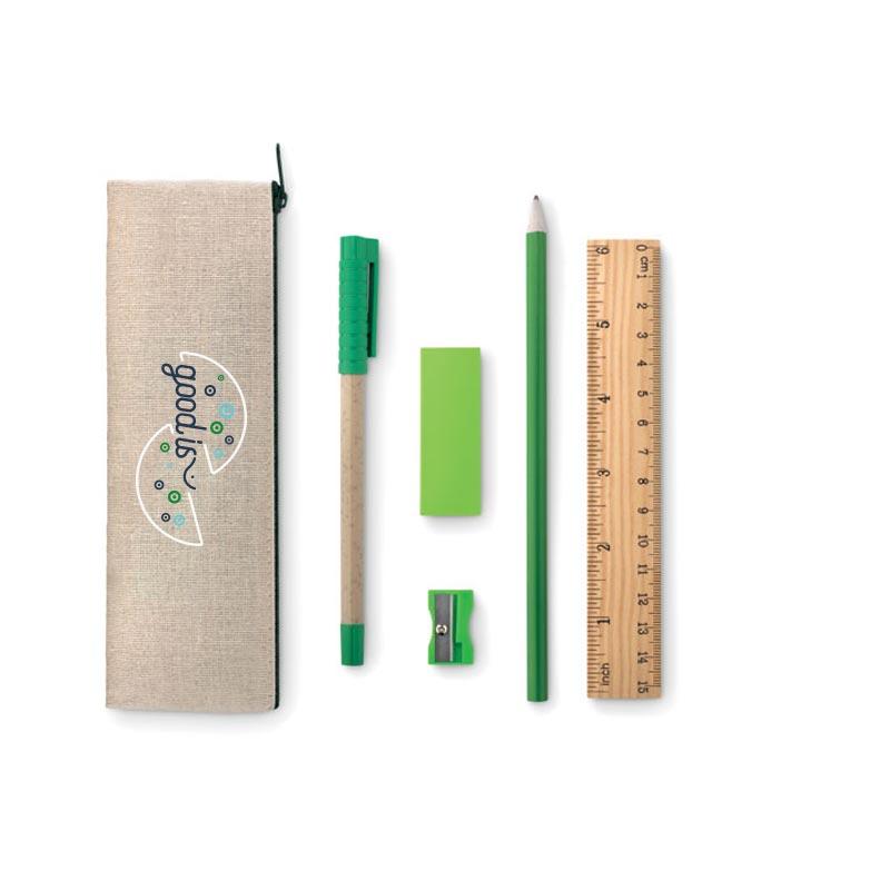 Trousse à crayon complète Tekina