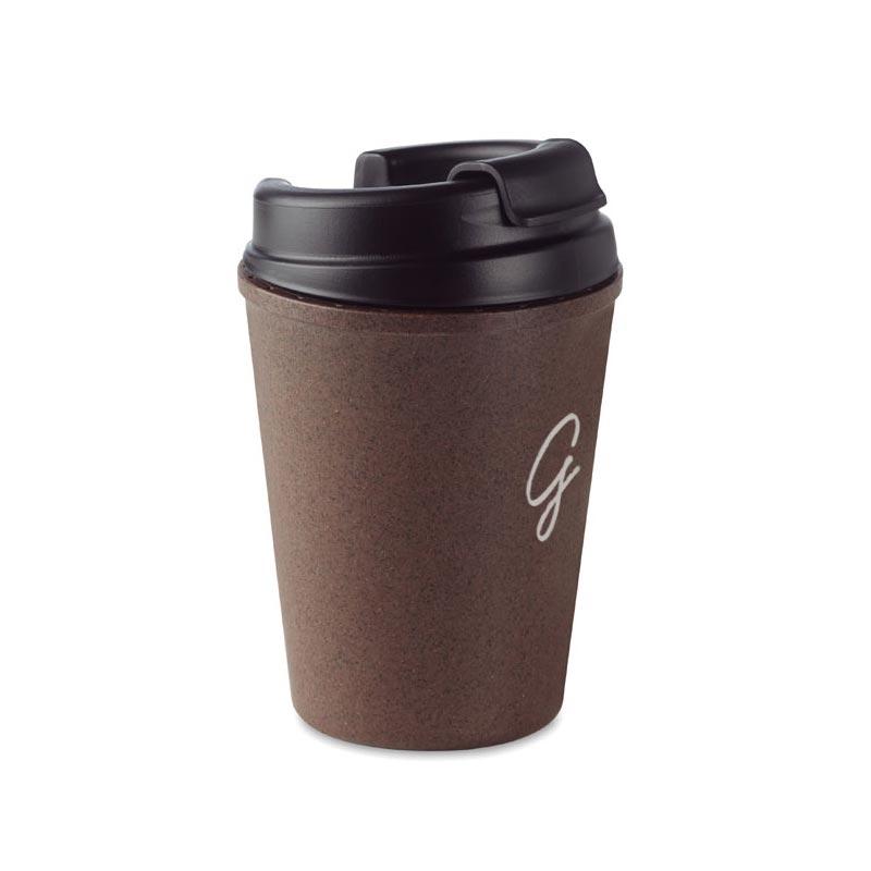 Mug personnalisé Brazil en cosses de café