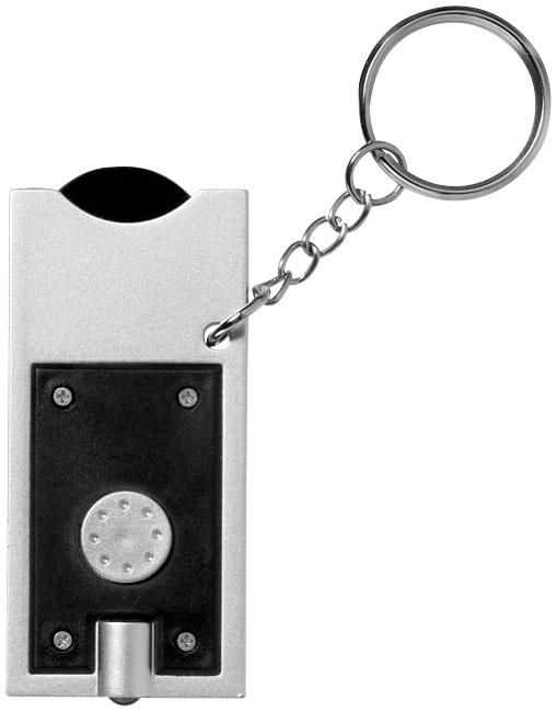 Goodies - Porte-clés publicitaire jeton et lampe-torche Allegro