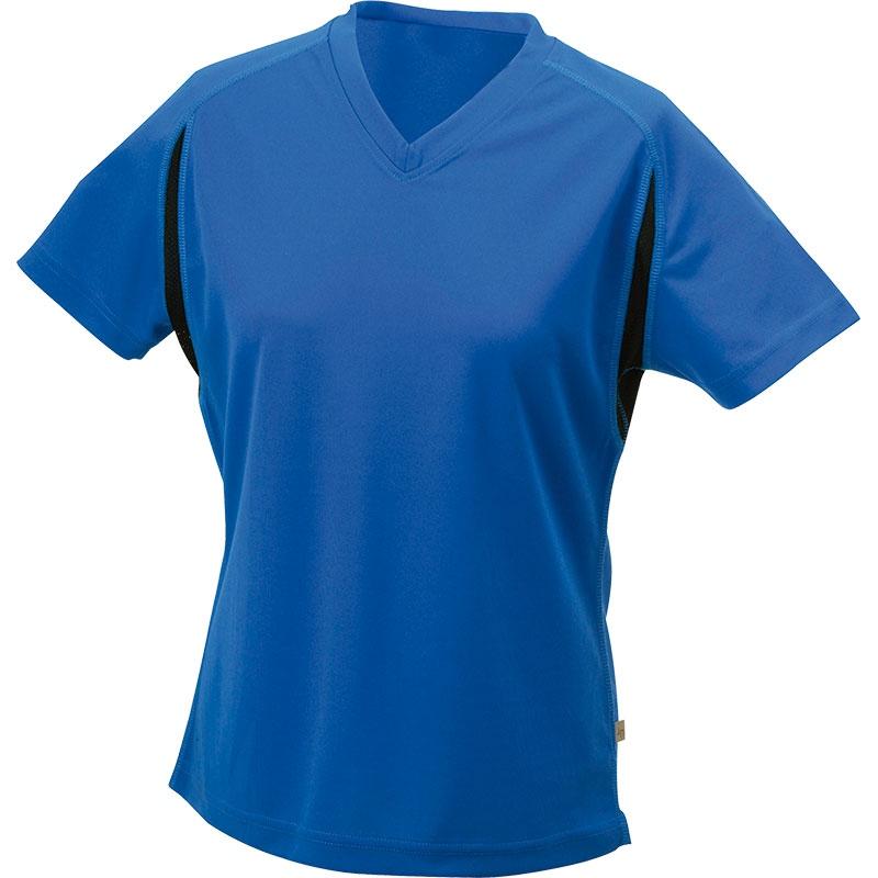 Tee-shirt running publicitaire Femme Lucie - rouge