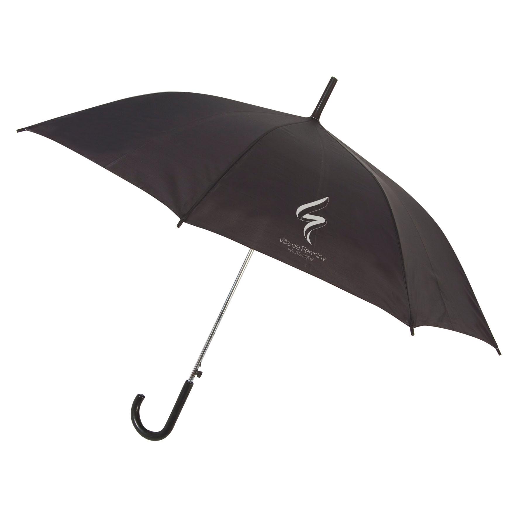 Parapluie publicitaire canne Glav - Parapluie personnalisable - jaune